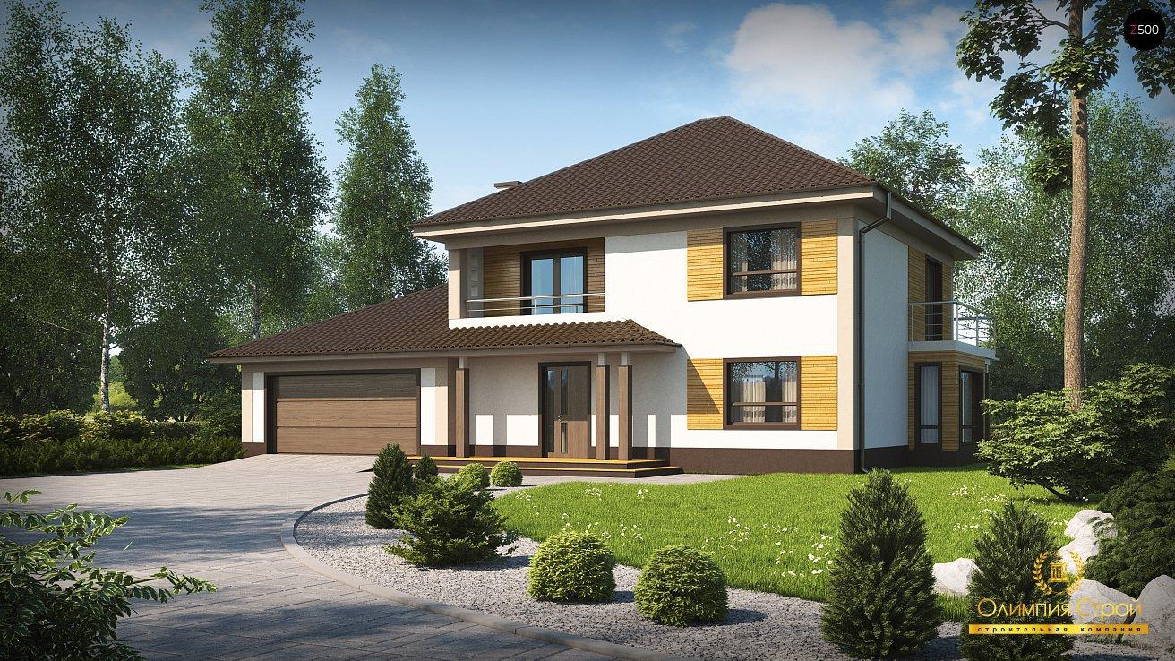 Каталог проектов домов allhomesru